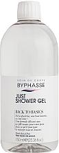 Düfte, Parfümerie und Kosmetik Duschgel für alle Hauttypen - Byphasse Back To Basics Just Shower Gel