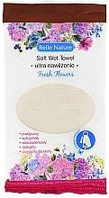 Düfte, Parfümerie und Kosmetik Nasses Handtuch mit Aroma von frischen Blumen - Belle Nature Soft Wet Towel