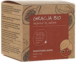Düfte, Parfümerie und Kosmetik Glättende Gesichtsmaske mit Kaolin - Gracja Bio Smoothing Mask