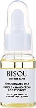 Düfte, Parfümerie und Kosmetik Nagelhautöl + Handcreme Booster-Tropfen - Bisou Bio-Therape