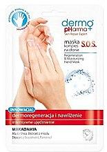 Düfte, Parfümerie und Kosmetik Regenerierende Handmaske mit Macadamia - Dermo Pharma Skin Repair Expert S.O.S. Regeneration & Moisturizing Hand Mask