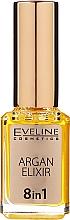 Düfte, Parfümerie und Kosmetik Regenerierendes Elixier 8in1 für Nägel und Nagelhaut - Eveline Cosmetics Argan Elixir