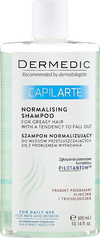 Shampoo für fettiges Haar - Dermedic Capilarte Normalising Shampoo