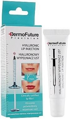 Lippenserum mit Hyaluronsäure - DermoFuture Precision Hyaluronic Lip