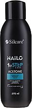 Düfte, Parfümerie und Kosmetik Aceton zum Entfernen von Gel-Lack, Acryl und Tips - Silcare Nailo Aceton