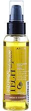 Düfte, Parfümerie und Kosmetik Feuchtigkeitsspendendes und pflegendes Haarserum mit Argan- und Kokosöl - Avon Advance Techniques Moisturising Serum