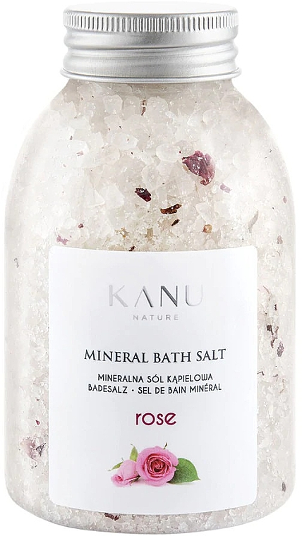 Sól mineralna do kąpieli Róża - Kanu Nature Rose Mineral Bath Salt