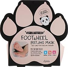 Düfte, Parfümerie und Kosmetik Aufweichende pflegende und feuchtigkeitsspendende Peelingmaske in Socken für Füße und Fersen mit Pflanzenextrakten - Esfolio Foot & heel Peeling Mask