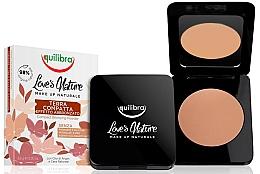 Düfte, Parfümerie und Kosmetik Bronze-Kompaktpuder - Equilibra Love's Nature Compact Bronzing Powder