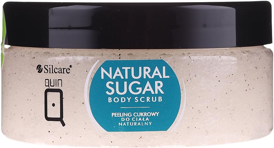 Natürliches Zucker-Körperpeeling - Silcare Quin Natural Sugar Body Scrub