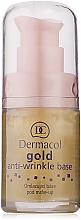 Düfte, Parfümerie und Kosmetik Anti-Falten Foundation - Dermacol Base Gold Anti-Wrinkle