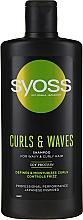 Düfte, Parfümerie und Kosmetik Shampoo für welliges und lockiges Haar - Syoss Curls & Waves Shampoo