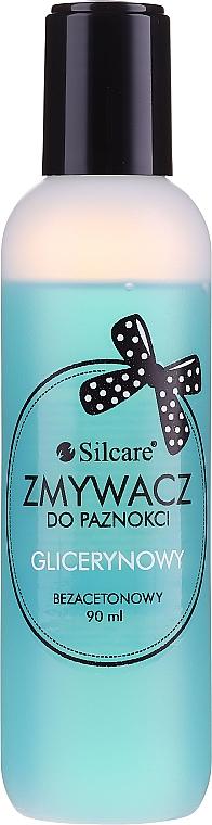 Acetonfreier Nagellackentferner mit Glycerin - Silcare