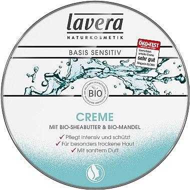 Intensiv pflegende und schützende Creme für besonders trockene Haut - Lavera All-Round Cream