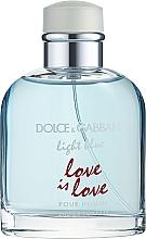 Düfte, Parfümerie und Kosmetik Dolce & Gabbana Light Blue Love is Love Pour Homme - Eau de Toilette