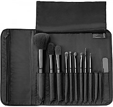 Düfte, Parfümerie und Kosmetik Make-up Pinselset 9-tlg. + Etui - Alcina