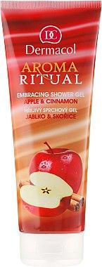 "Duschgel ""Apfel und Zimt"" - Dermacol Aroma Ritual Shower Gel Apple & Cinnamon"