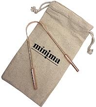 Düfte, Parfümerie und Kosmetik Zungenreiniger aus Kupfer - Minima Organics Copper Tongue Scraper