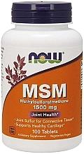 Düfte, Parfümerie und Kosmetik Nahrungsergänzungsmittel Methylsulfonylmethan in Kapseln 1500 mg - Now Foods MSM Methylsulfonylmethane