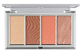 Düfte, Parfümerie und Kosmetik Konturierpalette - PUR 4-In-1 Skin Perfecting Powders Face Palette