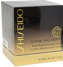 Luxuriöse intensiv regenerierende Nachtcreme - Shiseido Future Solution LX Total Regenerating Cream — Bild N3