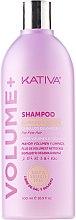 Düfte, Parfümerie und Kosmetik Reinigungsshampoo für voluminöses Haar - Kativa Volume + Shampoo