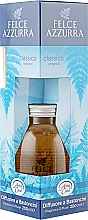 Düfte, Parfümerie und Kosmetik Aroma-Diffusor mit Duftholzstäbchen Original - Felce Azzurra Classic