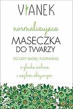 Düfte, Parfümerie und Kosmetik Normalisierende Gesichtsmaske - Vianek