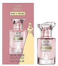 Düfte, Parfümerie und Kosmetik Naomi Campbell Pret a Porter Silk Collection - Eau de Toilette (Mini)