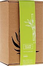 Düfte, Parfümerie und Kosmetik Körperpflegeset Bambus - Nature Queen (Körperpeeling 250g + Körperbutter 150ml+ Körperbalsam 200ml)