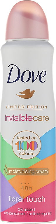 Deospray Antitranspirant - Dove Invisible Care Floral Touch Antiperspirant Limited Edition
