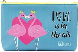 Düfte, Parfümerie und Kosmetik Kosmetiktasche mit Aufdruck, Blau - IDC Design Accessories Cosmetig Bag