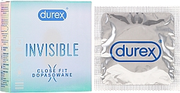Düfte, Parfümerie und Kosmetik Kondome 3 St. - Durex Invisible Close Fit