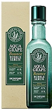 Düfte, Parfümerie und Kosmetik Antioxidatives Blasenserum für das Gesicht mit Seetraubenextrakt und Tiefseewasser aus Ulleungdo - SkinFood Aqua Grape Bounce Bubble Serum
