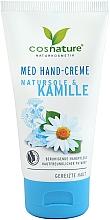 Düfte, Parfümerie und Kosmetik Beruhigende Handcreme mit Meersalz und Kamille - Cosnature Med Hand Cream