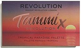 Düfte, Parfümerie und Kosmetik Lidschattenpalette - Makeup Revolution X Tammi Tropical Paradise Palette