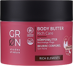 Düfte, Parfümerie und Kosmetik Körperbutter mit Sheabutter - GRN Rich Elements Shea Body Butter