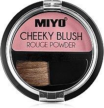 Düfte, Parfümerie und Kosmetik Gesichtsrouge - Miyo Cheeky Blush Rouge Powder