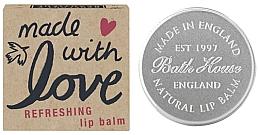 Düfte, Parfümerie und Kosmetik Handgemachter Lippenbalsam mit Zitrusgeschmack - Bath House Lip Balm Citrus