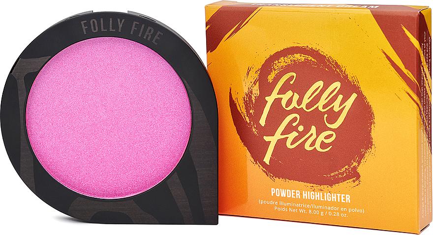 Farbintensiver Highlighter mit pflanzlichen Inhaltstoffen - Folly Fire Translucent Dream Powder Highlighter