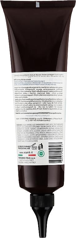 Detox-Kopfhautpeeling mit Aloe Vera und Karotten- und Zitronenöl - Niamh Hairconcept Be Pure Detox Scrub — Bild N2