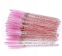 Düfte, Parfümerie und Kosmetik Einweg-Wimpern- und Augenbrauenbürsten transparent pink - Lewer