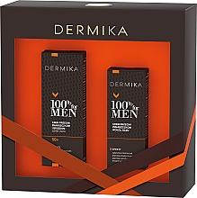 Düfte, Parfümerie und Kosmetik Gesichtspflegeset - Dermika 100% For Men (Gesichtscreme 50ml + Augencreme 15ml)