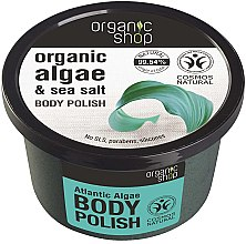 Düfte, Parfümerie und Kosmetik Körperpeeling mit Algen und Meersalz - Organic Shop Body Scrub Organic Algae & Sea Salt
