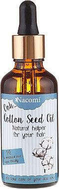 Baumwollsamenöl für das Haar - Nacomi Cotton Seed Oil
