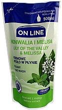 """Düfte, Parfümerie und Kosmetik Flüssigseife """"Maiglöckchen und Zitronenmelisse"""" - On Line Lilly of The Valley & Melissa Creamy Hand Wash (Nachfüller)"""