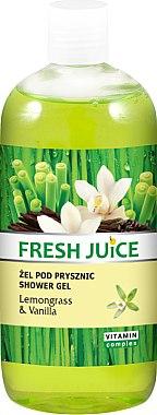 "Duschgel ""Zitronengras & Vanille"" - Fresh Juice Sexy Mix Lemongrass & Vanilla"