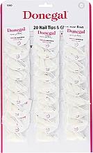 Düfte, Parfümerie und Kosmetik Künstliche Nägel Set - Donegal Nail Tips & Glue