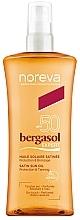 Düfte, Parfümerie und Kosmetik Sonnenschutzöl für den Körper SPF 50 - Noreva Laboratoires Bergasol Sublim Satiny Sun Oil SPF50