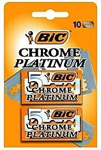 Düfte, Parfümerie und Kosmetik Einwegrasierer Chrome Platinum 10 St. - Bic